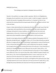 mmm critical essay mmm organisational behaviour thinkswap mmm240 critical essay