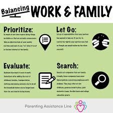 Balancing Work And Family Balancing Work And Family Pal The Parents Assistance Line