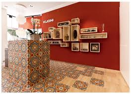 Tile Decor Store Kuoni Flagship Store Lugano Design by Dreimeta Reception 64