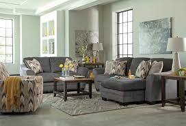 ashley living room furniture. Ferron Chaise Sofa - Charcoal Ashley Living Room Furniture