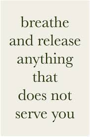 Breathe And Release Mindfulness Lettinggo Meditation Yoga