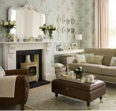 Wallpaper Decoration For Living Room Mirror Over Mantle Decorating Living Room With Furniture Design