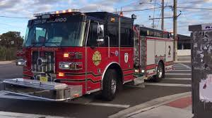 orlando fl fire brand new engine 2 on scene 2 2 18