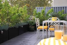Small Picture Inner city Balcony Garden Design