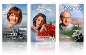 Funeral Card Templates Free Funeral Programs 24 Funeral Program Templates 18