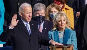 Joe is ready for a fight and will give. Pidato Pengukuhan Presiden As Joe Biden Langsung Ngegas Serang Donald Trump