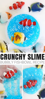 crunchy slime recipe for kids