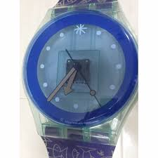 vintage swatch watch wall clock