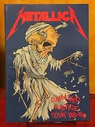<b>METALLICA</b> - 1988 <b>DAMAGED JUSTICE</b> TOUR CONCERT ...