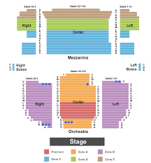 Neil Simon Theatre Seating Charts For All 2019 Events
