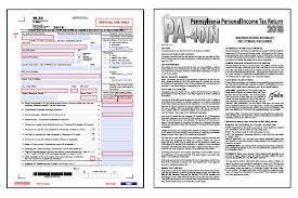 Pennsylvania Tax Forms 2019 Printable Pennsylvania State