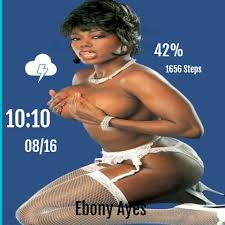 Pics of ebony ayes
