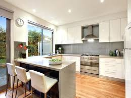 decoration u shaped kitchens with breakfast bar kitchen design ideas bars cupboard and stove apartment