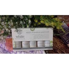 White Mandarin, <b>Подарочный набор</b> пробников шампуней, <b>5х30мл</b>