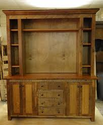 Custom Made Reclaimed Barn Wood Entertainment Center Rustic Entertainment Center L8