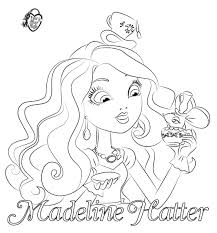 Ever After High Coloring Pages Dibujos