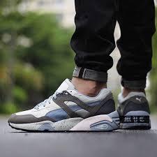 puma shoes air max. authentic t7cia rai7eb 2017 favorably puma trinomic r698 white grey blue shoes air max i