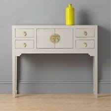 small hall table with drawers. Shanghai Oriental Furniture Grey Small Console Hall Table With Drawers E