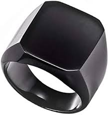 Stainless Steel - Rings / Men: Jewellery - Amazon.in