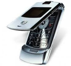 motorola flip phone 2007. motorola unleashed the razr, its futuristic-looking flip phone with questionable spelling, in 2003. slim came a variety of colours and was 2007