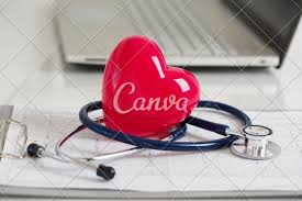 How To Read Cardiogram Chart Read Heart And Stetoscope Laying On Cardiogram Chart At