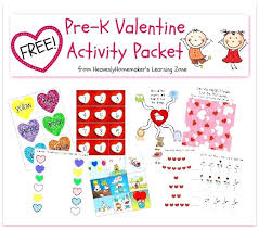 Free Pre K Printables Free K Valentine Activity Packet Sample Pages ...