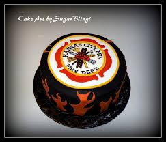 Firefighter Grooms Cake Cakecentralcom