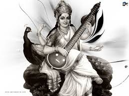 Image result for images of saraswati