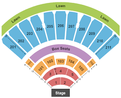 The Lawn At White River Seating Chart The Doobie Brothers Michael Mcdonald Tickets Sat Sep 5