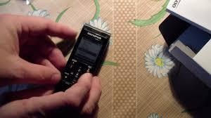 Обзор цифрового <b>диктофона</b> Олимпус <b>WS853</b> - YouTube