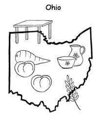 Small Picture Ohio State outline Coloring Page Copy the image and paste into