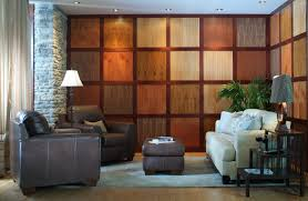 interior rock wall panels stone accent diy wood planks how to make paneling look good home