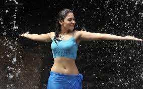 charming tamannaah bhatia dance in rain fhd wallpaper