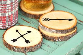 how to make wooden coasters