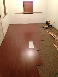 vinyl plank flooring over carpet stylish hardwood floor over carpet best images about flooring over carpet