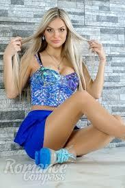 Ukraine Single Girl Inessa Brown Eyes Blonde Hair 23