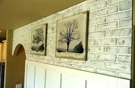 faux white brick wall faux brick panel faux brick panels image of white faux brick wall