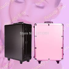 to hk hong kong macau aluminum makeup station case studio with mirror lights trolley and legs in cosmetic bags cases from luge
