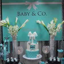 56 Best Tiffany U0026 Co Baby Shower Images On Pinterest  Tiffany Tiffany And Co Themed Baby Shower