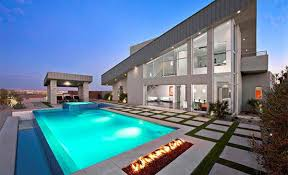 modern pool designs. Landscape Design Modern Pool Designs