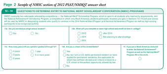 the national merit scholarship niche ink national merit scholarship entry form