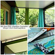 Budget-Friendly (and No-Sew!) DIY Outdoor Curtains