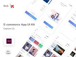 E Commerce App Ui Kit Free Uplabs