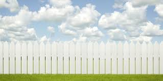 white picket fence. White Picket Fence D