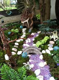 Small Picture 504 best Fairy Garden Ideas images on Pinterest Fairies garden