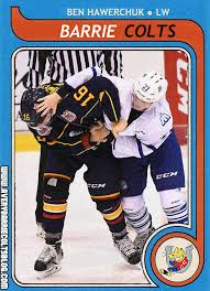 Image result for very barrie colts ben hawerchuk