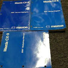 2007 mazda cx 9 service manual 2007 mazda cx 9 cx9 body wiring diagram service highlights manual set factory
