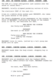 Movie Script Example Writing A Movie Script Examples