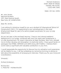 Cover Letter Fresh Graduate Civil Engineering Sample Job