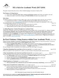 Mla Citationpdf Citation Publishing